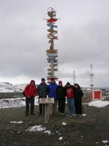 From left to right: Yuri, Alex, Bill, Cami, Marina, and Kara