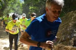 Bill uphil climb