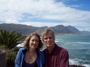 Bill and Cami on the road in South Africa