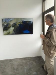 Bill, art gazing